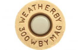 Weatherby BRASS300 Unprimed Brass 300 Weatherby Magnum Lightweight 20 Per Box