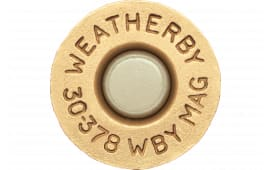 Weatherby BRASS303 Unprimed Brass 30-378 Weatherby Magnum Lightweight 20 Per Box