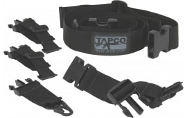 "Tapco 16606 Intrafuse Adjustable Sling System 1.5"" Mash Hook Swivel Nylon Black"