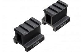 TruGlo TG8992B Picatinny Riser Mount For AR-15 Style Black Matte Anodized Finish