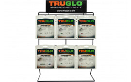 TruGlo TG101P2 Universal Shotgun Sight #2 Display w/Product 23 Sights Counter Top