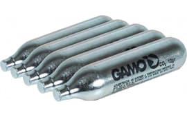 Gamo 621247054 CO2 Air Gun Cartridges 12 gram Silver 5PK