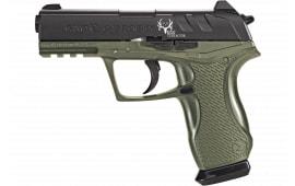 Gamo 611139354 Bone Collector Air Pistol DA/SA .177 Pellet & BB 16rd Black/OD