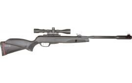 Gamo 6110063254 Whisper Fusion Mach 1 Air Rifle with 3-9x40mm Scope Break Open .177 Pellet Black