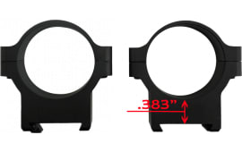 CZ 40011 Alum Scope Rings 30MM CZ550/557 LOW Matte