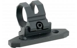 """Aim Sports AKMC03 Offset 1-Pc Base & Ring Combo For Keymod 1-Piece Style Black Hard Coat Anodized Finish 1"""""""
