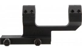 "Aim Sports MTCLF117 1-Pc Base & Ring Combo Cantilever Style For Universal Rifle Black Hard Coat Anodized Finish 1"" Ring 1.75"""
