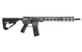 """BCI Defense 501-0001SG SQS15 Professional Series Semi-Auto .223 / 5.56 16"""" 30+1 6-Position Gray Cerakote"""