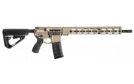 """BCI Defense 501-0001FDE SQS15 Professional Series Semi-Auto .223 / 5.56 16"""" 30+1 6-Position Flat Dark Earth"""