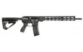 """BCI Defense 501-0001AB SQS15 Professional Series Semi-Auto .223 / 5.56 16"""" 30+1 6-Position Stock Black Cerakote"""