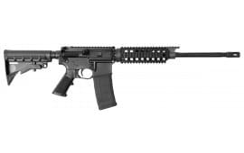 """BCI Defense 515-001 SQS15 Sentry Model Semi-Auto .223 / 5.56 16"""" 30+1 6-Position Stock Black Hard Coat Anodized"""