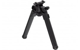 Magpul MAG933-BLK M-Lok Bipod Aluminum Black Polymer Rubber