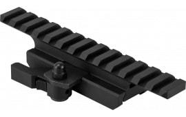 NCStar MARFQV2 Riser For AR-15 1-Piece Style Black Finish