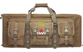 IWI TCM210 Tavor SAR Double Gun Case Polyester Rugged FDE