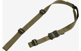 "Magpul MAG513-RGR MS1 48""- 60"" x 1.25"" Nylon Webbing Ranger Green Adjustable"