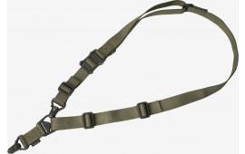 """Magpul MAG514-RGR MS3 Gen2 1.25"""" Nylon Webbing Ranger Green Adjustable"""