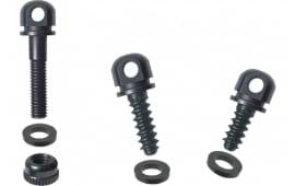 "Outdoor Connection BO5 Swivel Swivel Accessories 7/8""MacScrew; 1/2"" & 3/4"" WdScrewBase,3Spacers Black Steel"