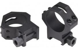 Weaver Mounts 48367 Four Hole Skeleton Ring Set 30mm Dia XHigh Matte Black