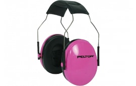 3M Peltor 97022 Small Hearing Protection Earmuff 22 dB Black/Pink