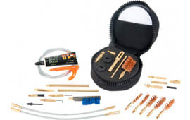 """Otis FG85211 Deluxe Law Enforcement Cleaning System 9mm-.45cal, .223, .308, 12GA Cleaning Kit 4"""" x 4"""" x 2.5"""" 1 Kit"""