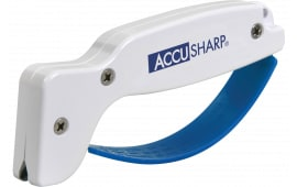 Accusharp 001 White Sharpener Diamond Tungsten Carbide Plastic Handle