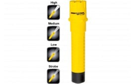 Nightstick TAC500Y Nightstick Tactical Flashlight 200/125/65 Lumens CR123A Lithium (2) Yellow