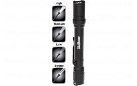 Nightstick MT220 MT 220 Mini Tac Pro 200/90/45 Lumens AA (2) Black