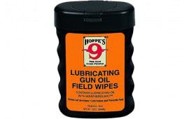 "Hoppes 1631 Gun Oil Field Wipes 3"" x 5"""