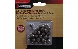 """Marksman 3138Slingshot Steel Shot 1/4"""" 75 Pack"""