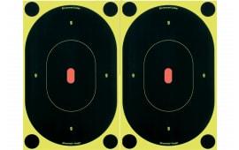"Birchwood Casey 34710 Shoot-N-C Silhouette Oval 7"" 12 Targets"