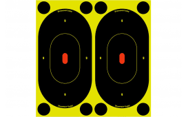 "Birchwood Casey 34750 Shoot-N-C Silhouette Oval 7"" 60 Targets"