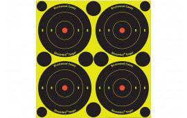 """Birchwood Casey 34805 Shoot-N-C Bull''s-Eye 8"""" 6 Pack"""