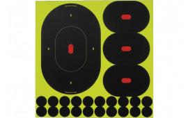 "Birchwood Casey 34905 Shoot-N-C Silhouette Oval 9"" 5 Pack"