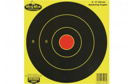 Birchwood Casey 35908 Dirty Bird Bull''s-Eye Targets 8 Pac