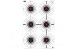Birchwood Casey 37037 EZE-SCORER 23X35 Multiple Bullseye 5PK