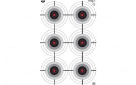 Birchwood Casey 37038 EZE-SCORER 23X35 Multiple Bullseye 100PK