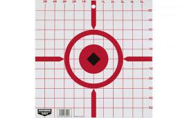 """Birchwood Casey 37210 Rigid Crosshair Sight-In 12"""" Tagboard 10 Pack"""