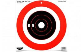 Birchwood Casey 37211 Rigid 12 Bull S-EYE DH TGT 10PK