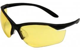 Howard Leight R01536 Vapor II Shooting/Sporting Glasses Black Frame/Amber Lens