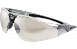 Howard Leight R01708 HL804 Shooting/Sporting Glasses Gray Frame/Silver Mirror Lens