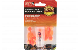 Howard Leight R02236 TrustFit Pod Earplugs Uncorded 28 dB Orange/Yellow 5 Pair