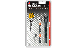 Maglite SP32016 Mini Mag 2AAA LED Black w/Pkt Clip and Holster