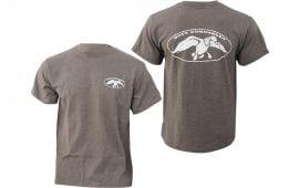 Duck Commander Dcshirtcwl White Logo Charcoal T-Shirt Small Cotton