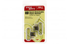 """Uncle Mikes 10933 QD Super Swivel with Tri-Lock 1.25"""" Quick Release Nickel-Plated Steel"""