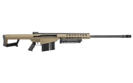 "Barrett 14029 M82 A1 Semi-Auto .416 Barrett 29"" 10+1 Fixed Flat Dark Earth Stock FDE/Black"
