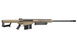 """Barrett 14029 M82 A1 Semi-Auto .416 Barrett 29"""" 10+1 Fixed Flat Dark Earth Stock FDE/Black"""