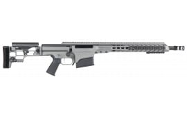 "Barrett 14368 MRAD Bolt 308 Winchester 17"" 10+1 Folding Metal Gray Stock Gray Cerakote"