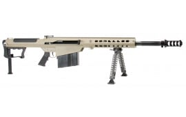 "Barrett 14558 M107A1 SA 50 (bmg) 20"" 10+1 Fixed FDE Stock FDE/Black"