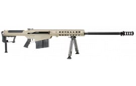 "Barrett 14559 M107A1 SA 50 BMG 29"" 10+1 Fixed Stock FDE / Black"