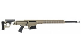 "Barrett 14374 MRAD Bolt .338 Lapua Mag 24"" 10+1 Folding Flat Dark Earth Stock FDE/Black"